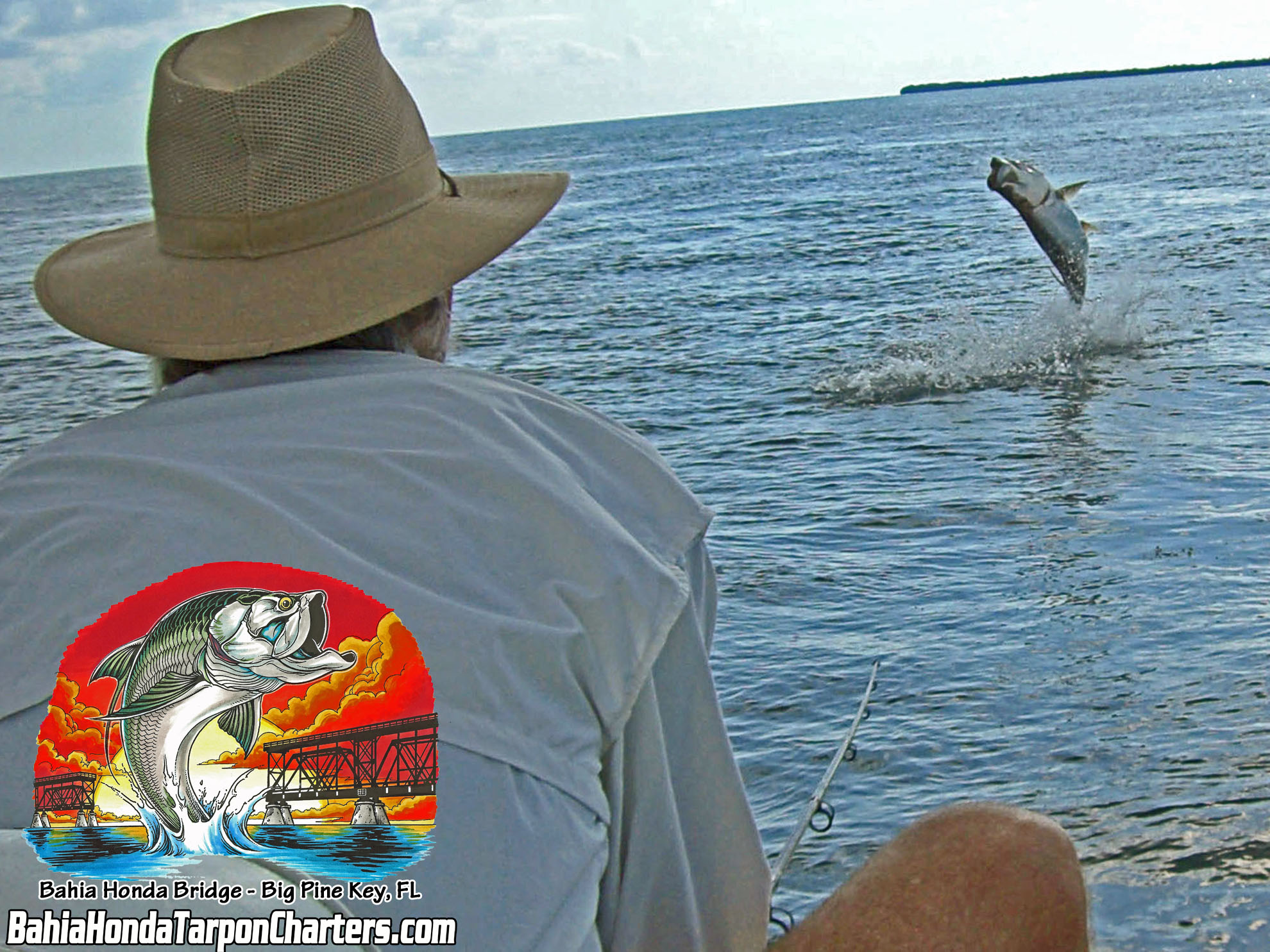 Bart sharp tarpon at bahia honda bridge