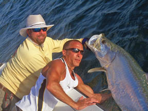 Ed Altweis bahia honda tarpon charters in the florida keys