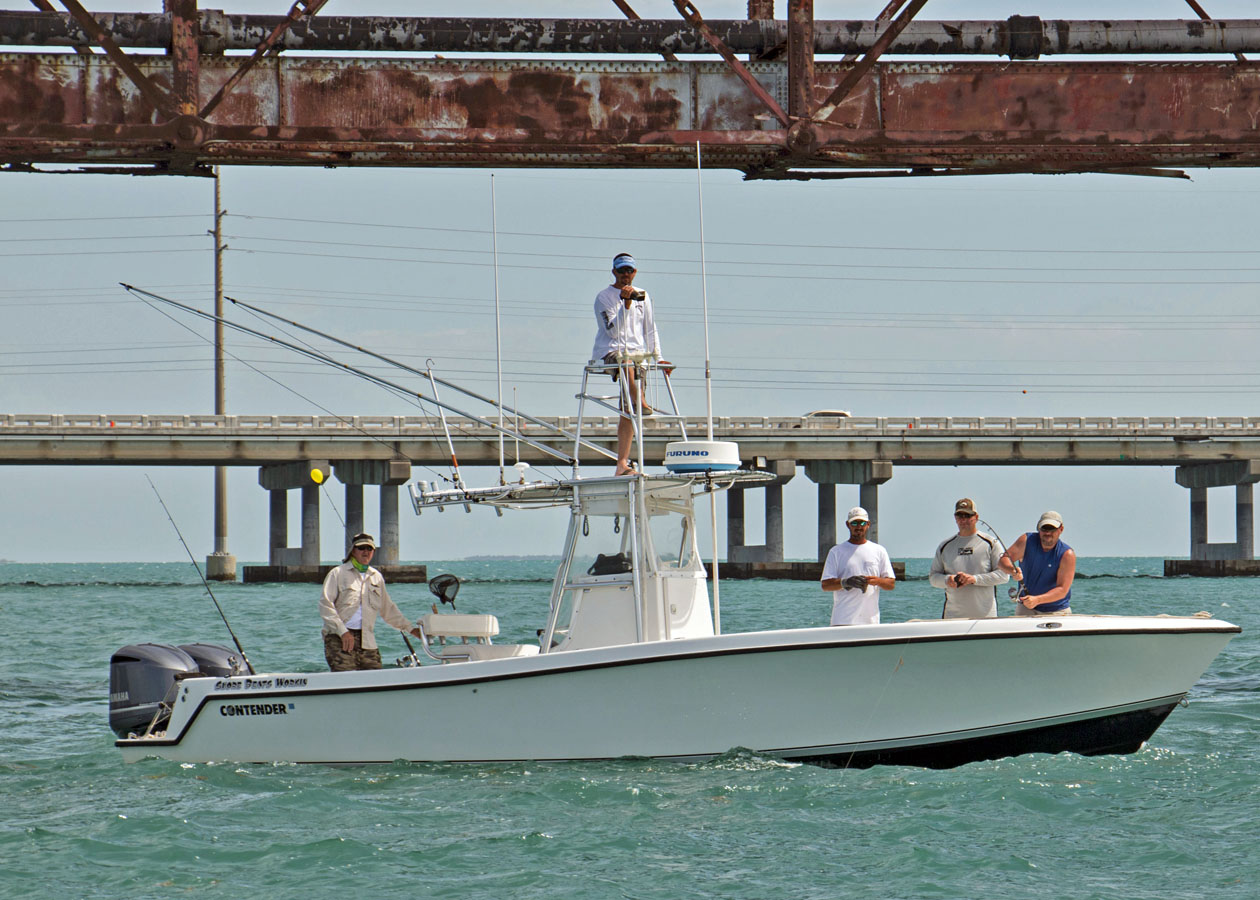 captain Shelby florida keys fishing fleet charters